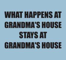 Stays At Grandmas House One Piece - Short Sleeve