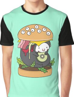 The Burger Monster Graphic T-Shirt