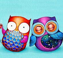 Night Owl Morning Owl by Annya Kai