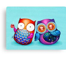 Night Owl Morning Owl Canvas Print