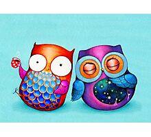 Night Owl Morning Owl Photographic Print