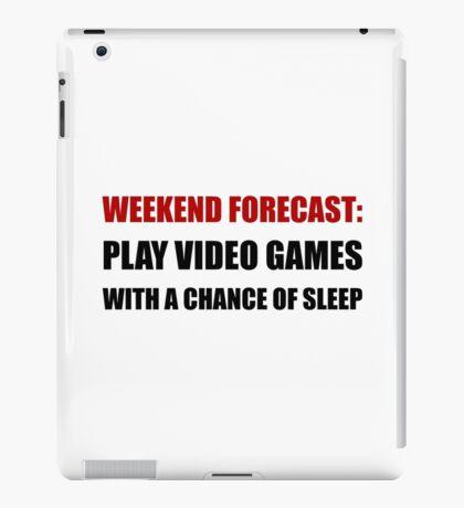 Play Video Games Sleep iPad Case/Skin