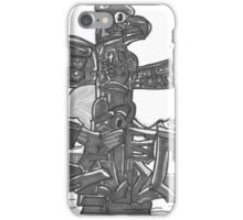 TOTEM PRINT iPhone Case/Skin