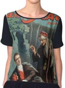 Performing Arts Posters The singing comedian Andrew Mack in the The last of the Rohans by Ramsay Morris 1114 Chiffon Top