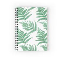 British Fern Spiral Notebook