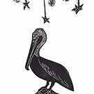Night Watch Pelican by craftyhag