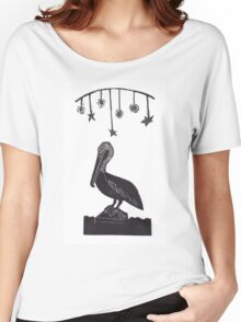 Night Watch Pelican Women's Relaxed Fit T-Shirt