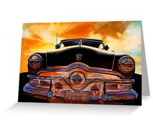 Sweet Ride Nineteen Fifty Style Greeting Card