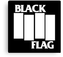 Black Flag Band Canvas Print