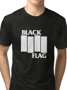 Black Flag Band Tri-blend T-Shirt