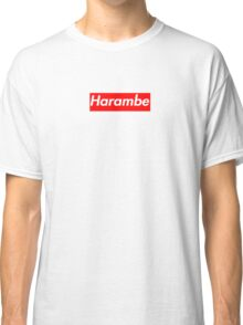 Harambe Supreme Box Logo Best Classic T-Shirt