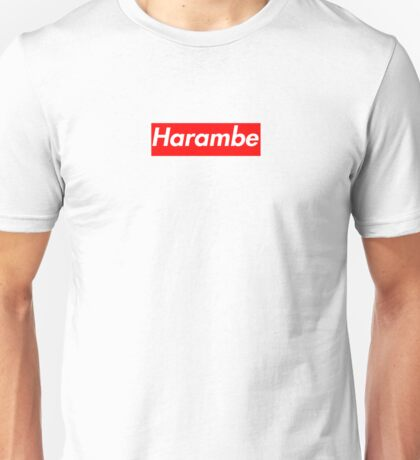 Harambe Supreme Box Logo Best Unisex T-Shirt