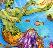 Merman and Mermaids Sticker