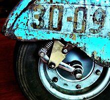 Vintage Vespa 2 by Janine Barr