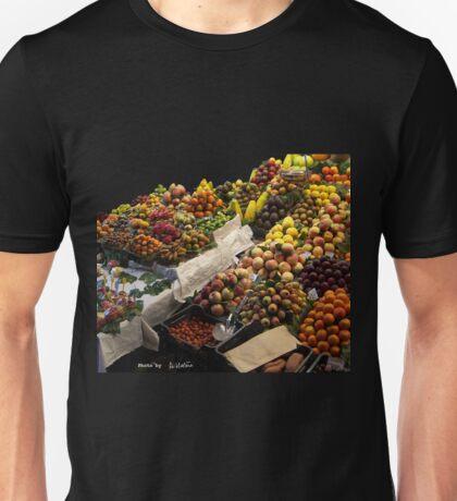 Qui veut acheter mes beaux fruits ? Unisex T-Shirt