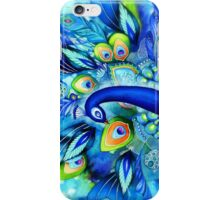 Peacock in Full Bloom iPhone Case/Skin