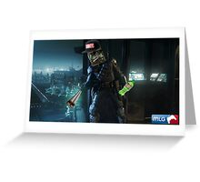 Mr Videogame Person | Spectre 1 Greeting Card