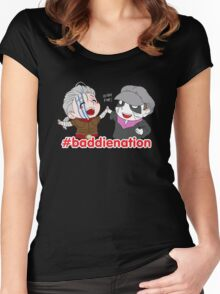 Baddie Nation - LARP Commission Women's Fitted Scoop T-Shirt