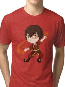 Zuko, Fire Nation Prince Tri-blend T-Shirt