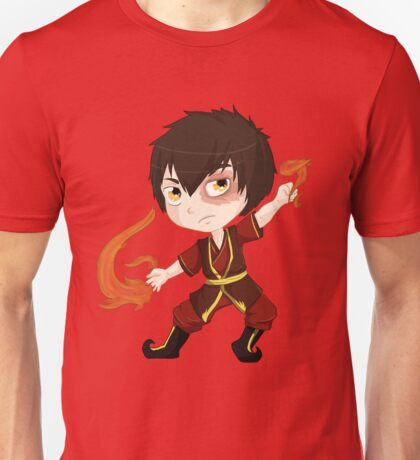 Zuko, Fire Nation Prince Unisex T-Shirt