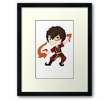 Zuko, Fire Nation Prince Framed Print