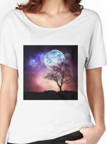 Moon Tree Women's Relaxed Fit T-Shirt