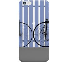 Penny Farthing cycle iPhone Case/Skin