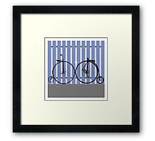 Penny Farthing cycle Framed Print
