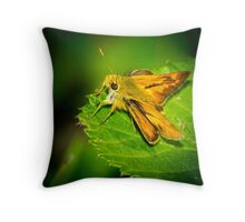 Fiery Skipper Throw Pillow