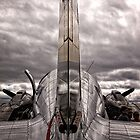 Airplane from the back  by Wolf Sverak