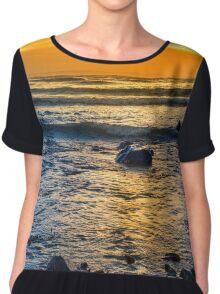 kelp at rocky beal beach Chiffon Top