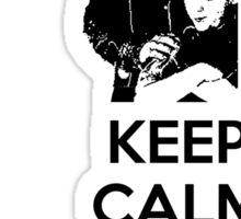 Keep Calm and Blame Maurice Sticker