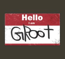 Hello- I am GROOT by Treeshius