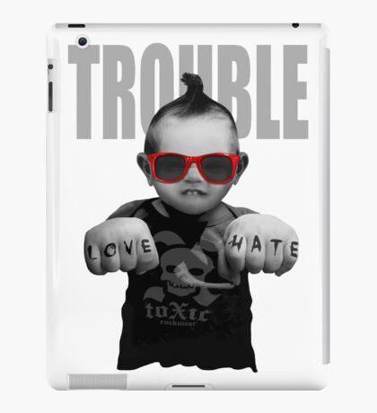 Trouble Baby iPad Case/Skin