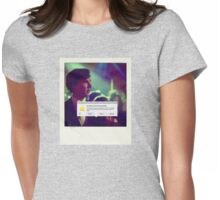 Sherlock Polaroids Womens Fitted T-Shirt
