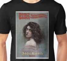 Performing Arts Posters Hurly Burly Extravaganza and Refined Vaudeville 0434 Unisex T-Shirt