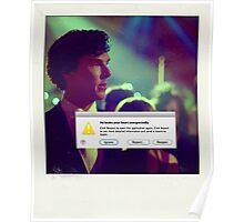 Sherlock Polaroids Poster