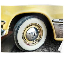 Ready To Roll Classic Car - photography Poster