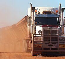 road train at Auski Roadhouse (Pilbara) by gaylene