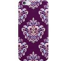 Pastel Damask Pattern iPhone Case/Skin