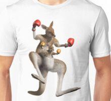 kangourou boxe Unisex T-Shirt