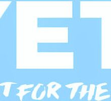 Yeti Light Blue Sticker