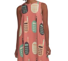 The Classic Cell Phones A-Line Dress