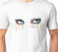 Watercolor Eyes Unisex T-Shirt