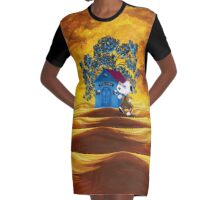 Doctor Ten Snoop Graphic T-Shirt Dress