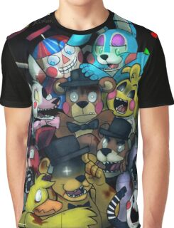 Five Nights at Freddy's 2 Graphic T-Shirt