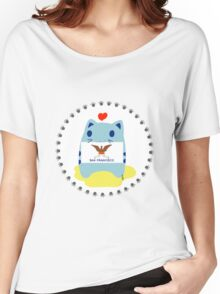 Steve loves San Francisco Women's Relaxed Fit T-Shirt