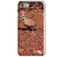 spinifex pigeon - Pilbara iPhone Case/Skin