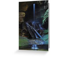The Grotto - Blue Mountains, NSW Greeting Card
