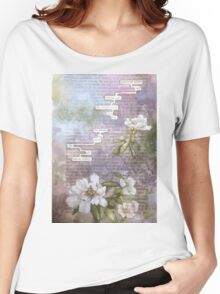humument poem  Women's Relaxed Fit T-Shirt